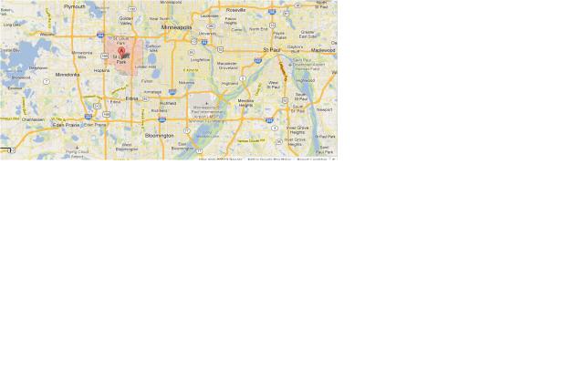 St. louis park map