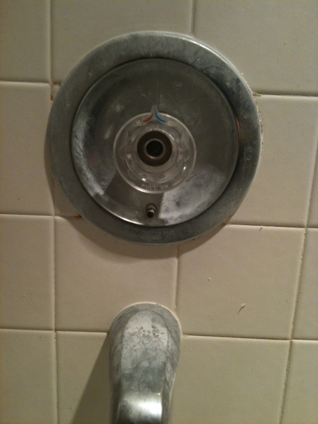 bathtub faucet repair