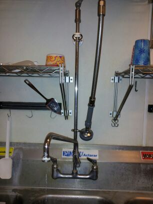Commercial Kitchen T & S Faucet