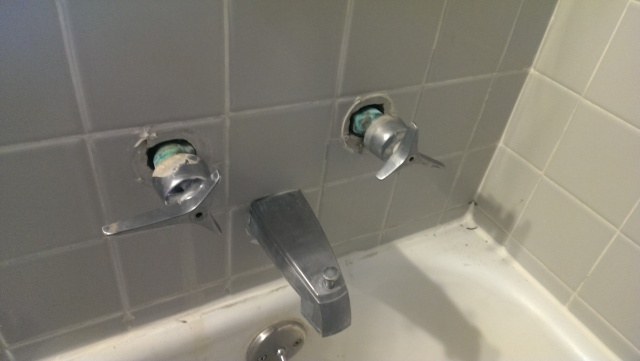 Bathtub Faucet Handles Leaking
